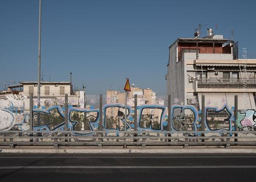 Athen an der E75
