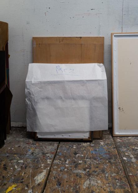 Alois Riedl, Otto Hainzl, Galerie Schloss Parz, sitzen, Ausstellung, Vorbereitung