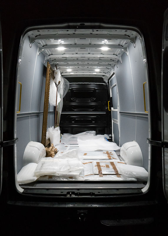 trunk, art transport, kunsttransport